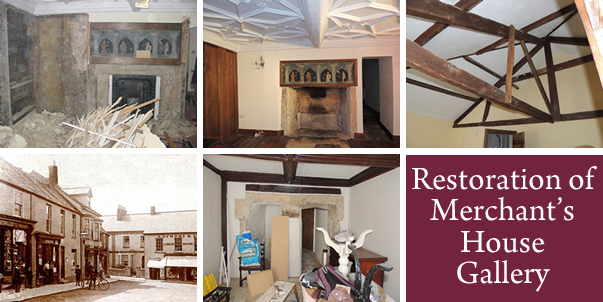 Restoration of Merchants House Gallery