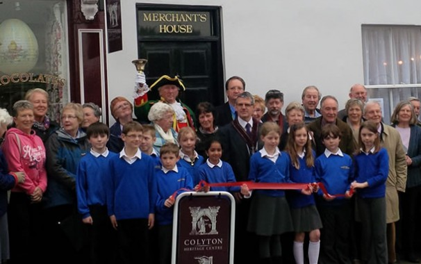 The Colyton Heritage Centre was formally opened today, 3rd April 2014