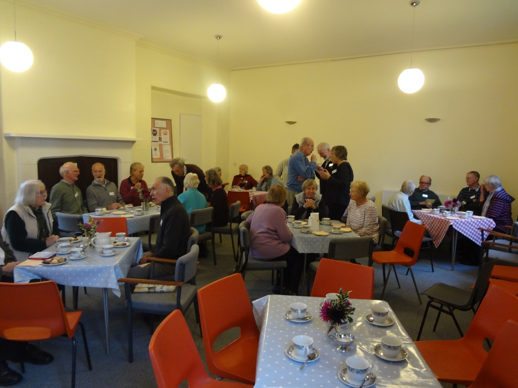 History Society volunteers celebrating success of Heritage Centre's first season